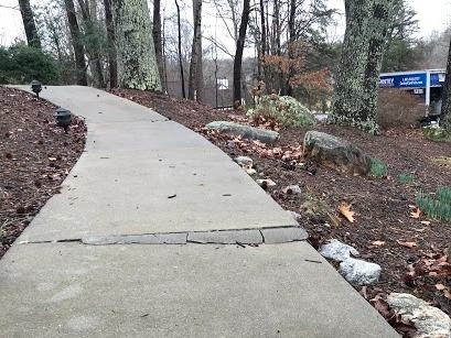 Tripping Hazard No More in Charlotte, NC - Before Photo