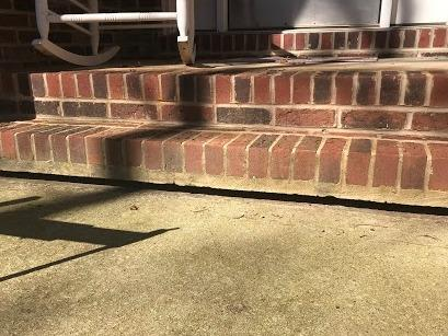 Front Step Lift in Salisbury, NC - Before Photo