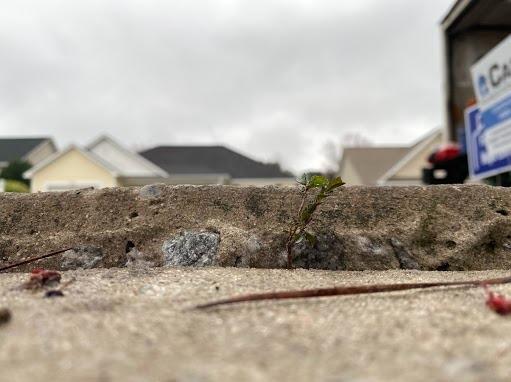 Amazing Concrete Repair in Marion, NC - Before Photo