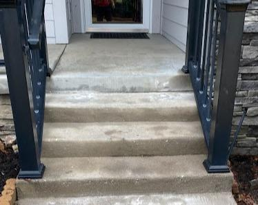 Front Step Lift in Marion, NC - After Photo
