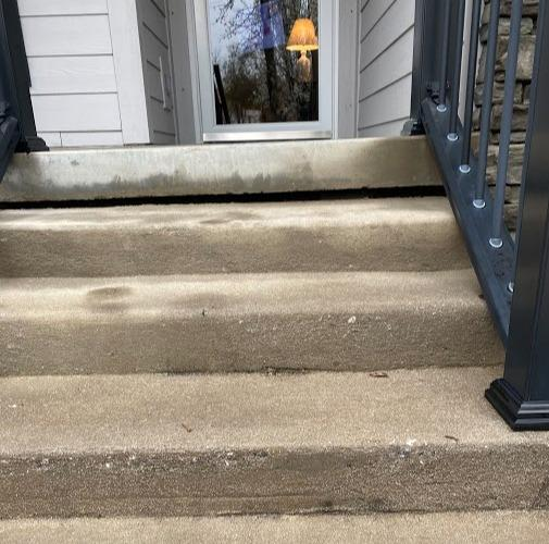 Front Step Lift in Marion, NC - Before Photo