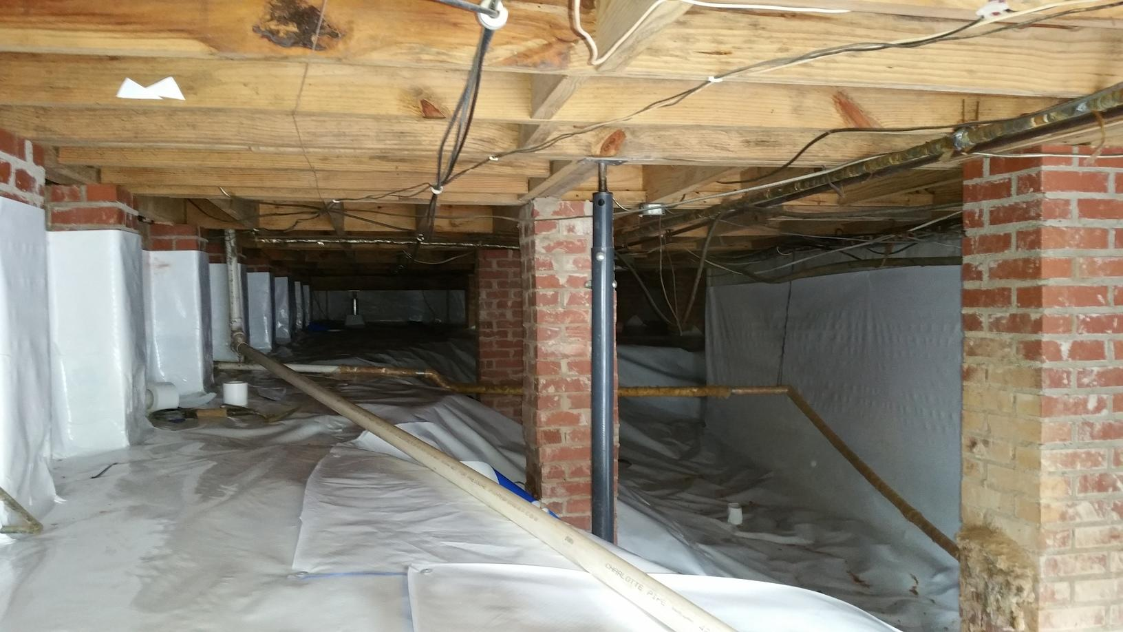 Encapsulation in Boiling Springs, SC Crawl Space - After Photo