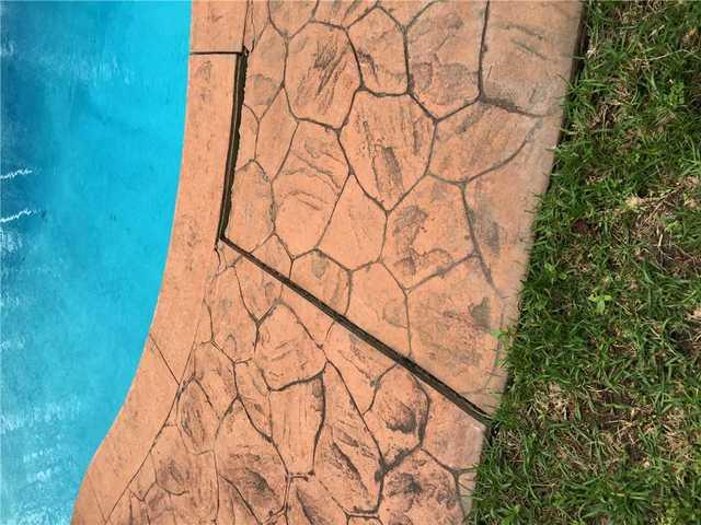Pool Deck PolyLEVELed Back into Place in Sumter, SC!