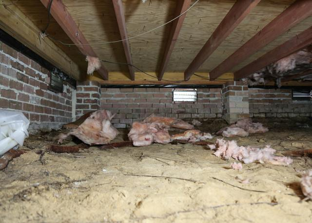 Rotten Wood Replaced and Protected with CleanSpace Encapsulation in Columbia, SC Home - Before Photo