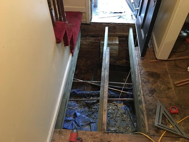 Wood Rot Repair in Bowling Green, SC Home - After Photo