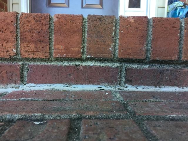 Brick Porch Steps Lifted Back into Place in Greenwood, SC