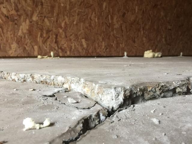 Workshop Concrete Floor Leveled in Ridgeville, SC