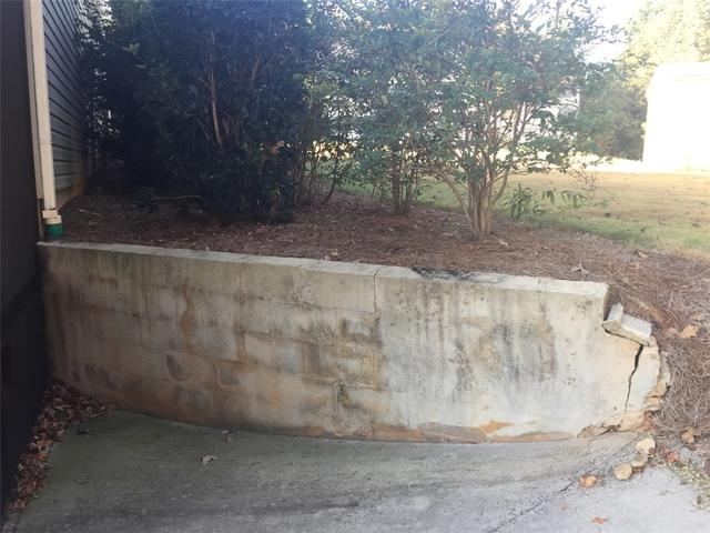 Retaining Wall Corrected in Isle of Palms, SC