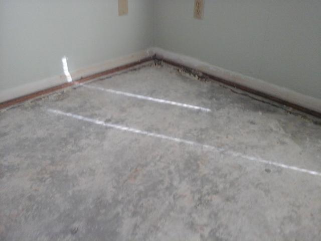PolyLevel Lifts Kitchen Floor in Ninety-Six, SC so Homeowner Can Install New Flooring