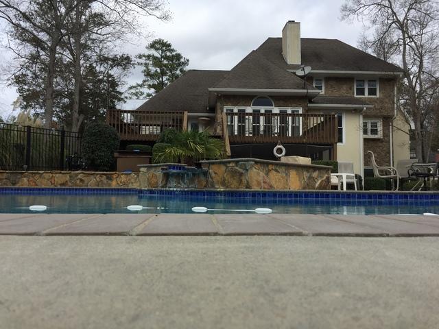 Graniteville, SC Homeowner Tires of Watching Her Pool Deck Sink