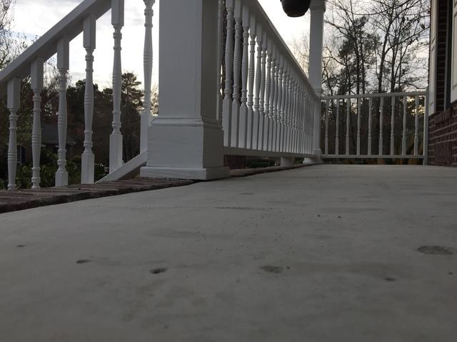 Front Porch Tripping Hazard Corrected in Newberry, SC