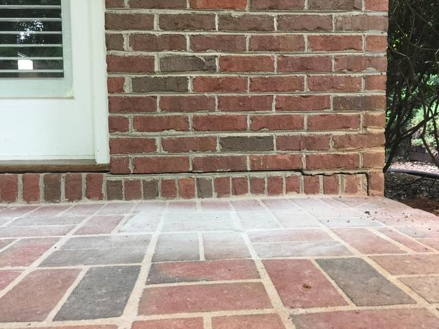 PolyLevel Lifts Back Patio in Greer, SC