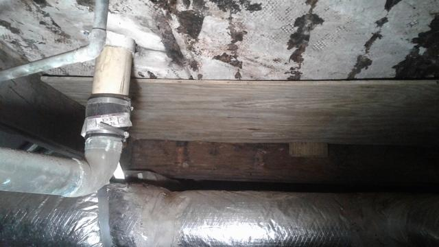Floor Saved By Replacement Joist in Holly Hill, SC