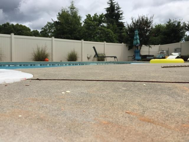 PolyLevel Raises Pool Deck in Anderson, SC