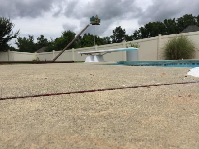 PolyLevel Evens Pool Deck in Anderson, SC