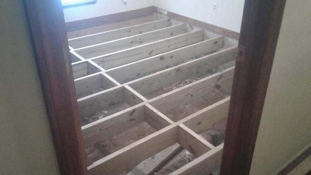 Sinking Floor Causes Couple to Seek Help in Cottageville, SC - After Photo