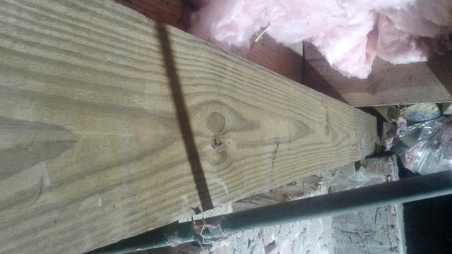 Flooding Causes Wood Decay in Charleston, SC - After Photo