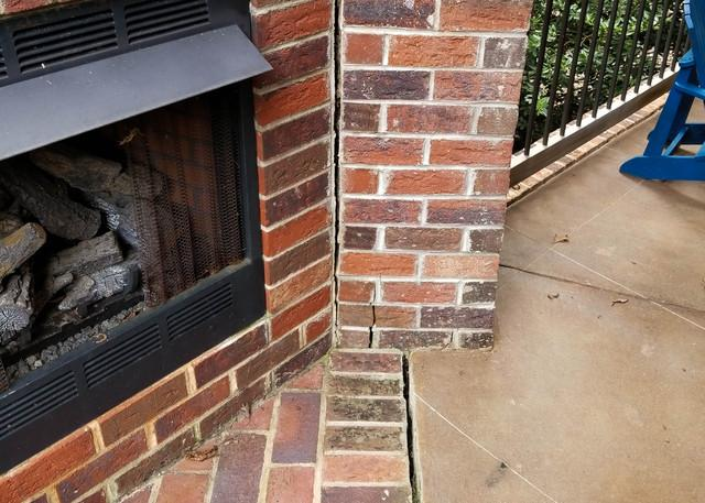 Helical Piers Save Peaceful Porch in Salem, SC