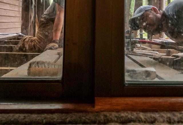 Push Piers Correct Porch Doors in Columbia, SC