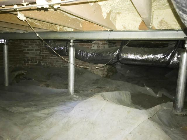 SmartJacks Lift a Problematic Floor in Cayce, SC