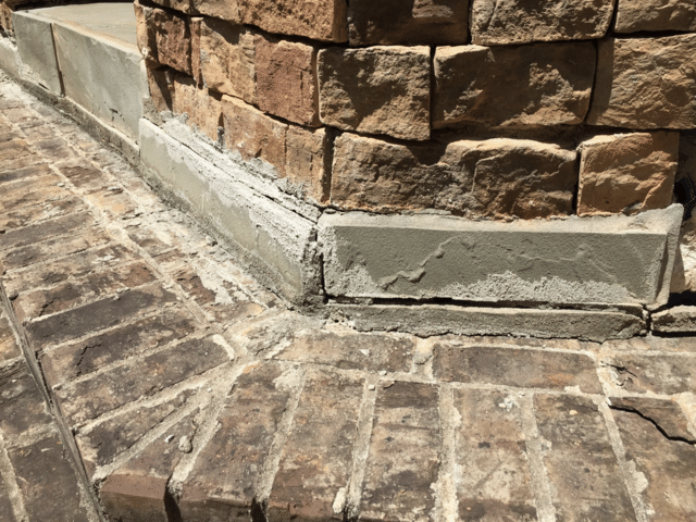 PolyLevel Repairs Steps of Dream Home in Greenville, SC