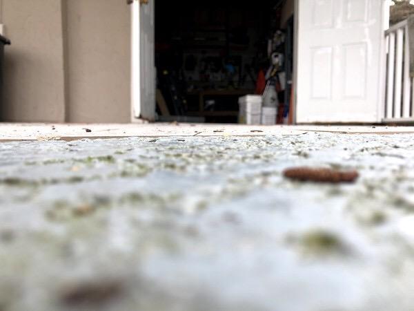 PolyLevel Fixes Storage Closet Tripping Hazard