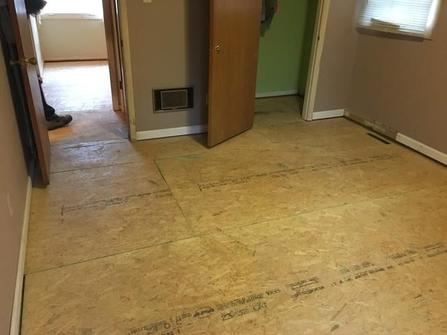 Home in Sandy Springs Gets Rotten Floor Replaced