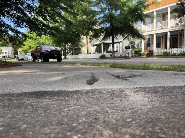 Uneven Sidewalk Lifted in Evans, GA