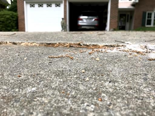 Cracked Driveway Repair in Simpsonville, SC
