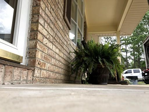 Cracked Concrete Porch Repair in Dalzell, SC