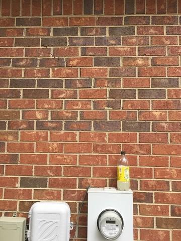 Foundation Cracks in Brick Home in Grovetown, GA