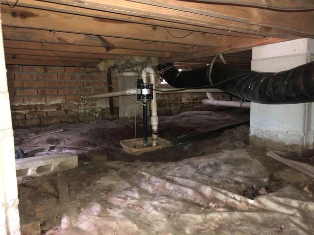 Wet Wood/Termite Damaged Crawlspace Repair in Summerville SC