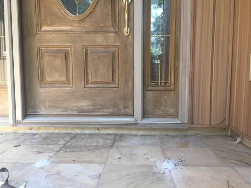 Sunken Concrete Front Porch Repair in Mc Cormick, SC