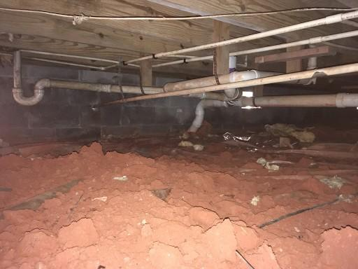 Wet Crawl Space to CleanSpace in Pendleton SC