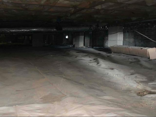 Crawl Space Vapor Barrier in Florence SC - Before Photo