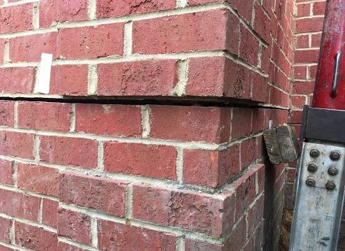 Piers Close Foundation Crack in Florence SC