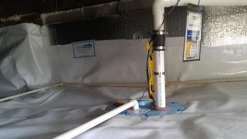 Crawl Space Drainage Solutions in Cassatt SC