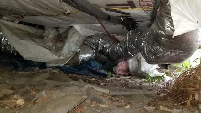 Wet, Nasty Crawl Space Restored in Charleston SC. Now Bug Free!