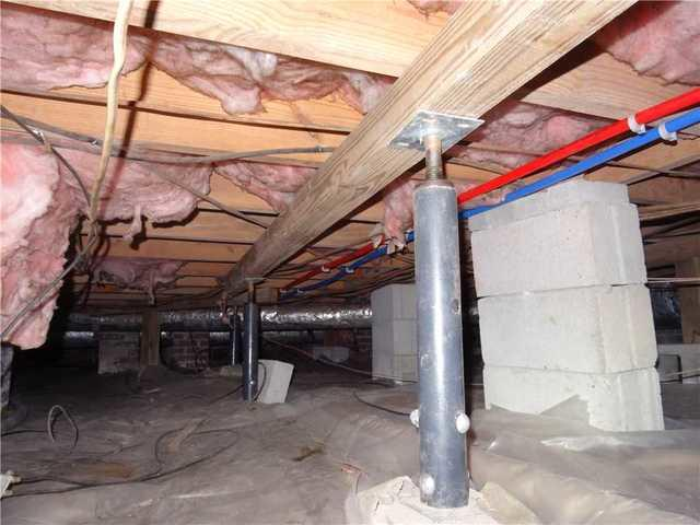 SmartJack Replaces Less Quality Crawl Space Jack in Gilbert, SC