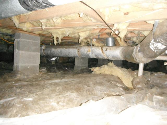 Mount Pleasant Crawl Space Encapsulated with CleanSpace