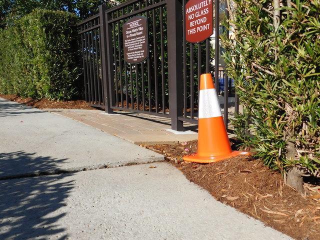 Myrtle Beach Marriott at Grand Dunes Hotel's Sidewalks Leveled Using PolyLEVEL