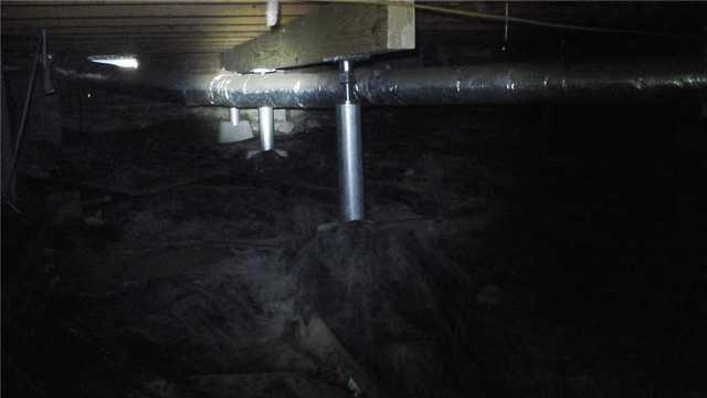 SmartJacks Replace Old Crawl Space Jacks in Columbia Home