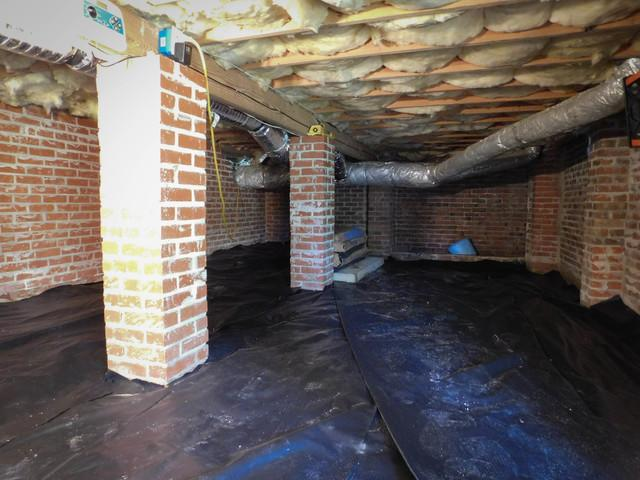 SmartJack and Crawl Space Liner Installation in Camden, SC
