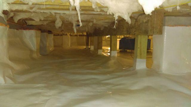 Crawlspace Encapsulated in Seneca, SC