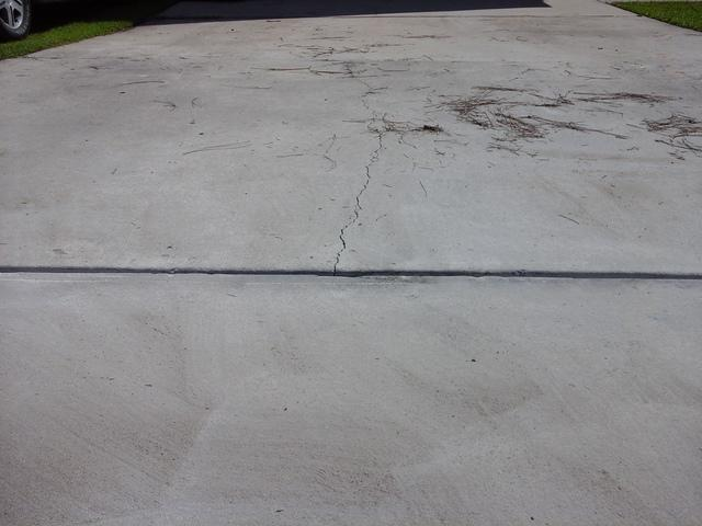 Driveway Concrete Lifted in Irmo, SC