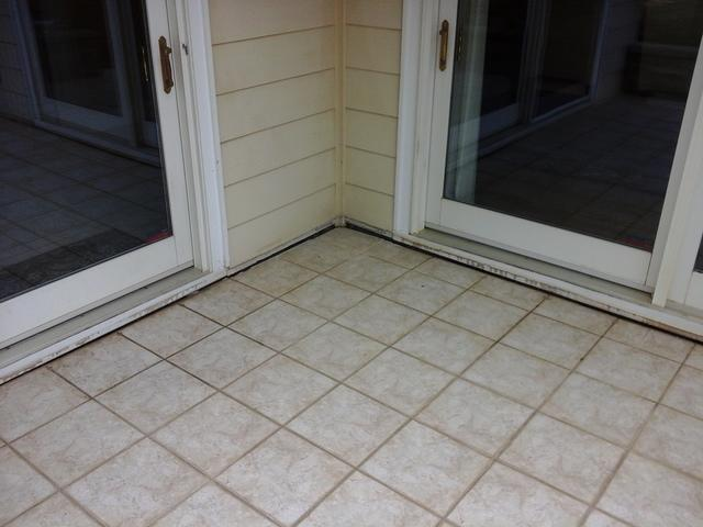 Lifting a Back Patio in Springfield, SC with PolyLEVEL