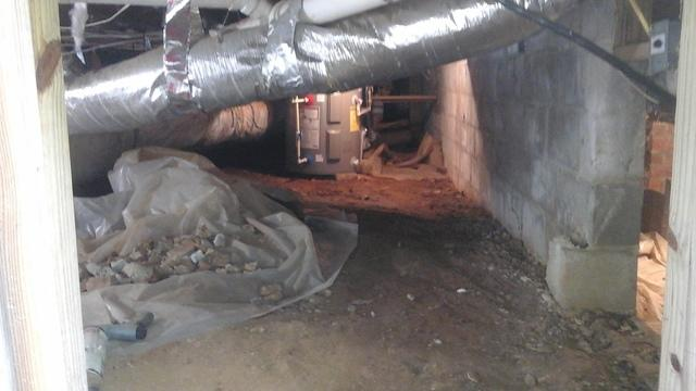 Ridgeway, SC Crawl Space Encapsulated to Get Rid of Mold