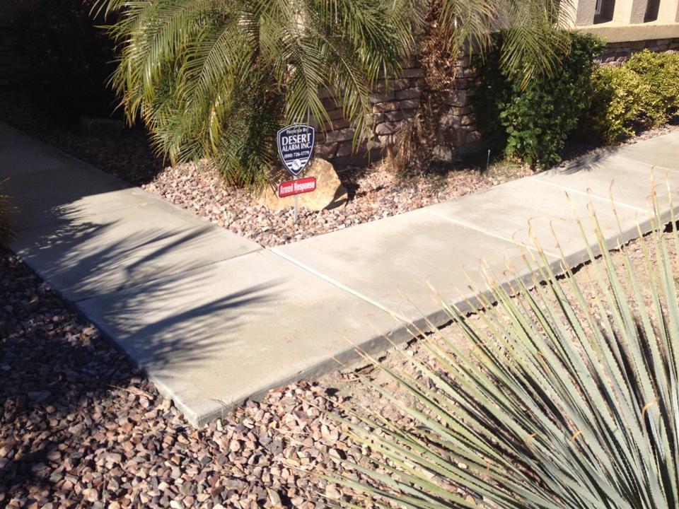 PolyLevel(R) in La Quinta - Before Photo