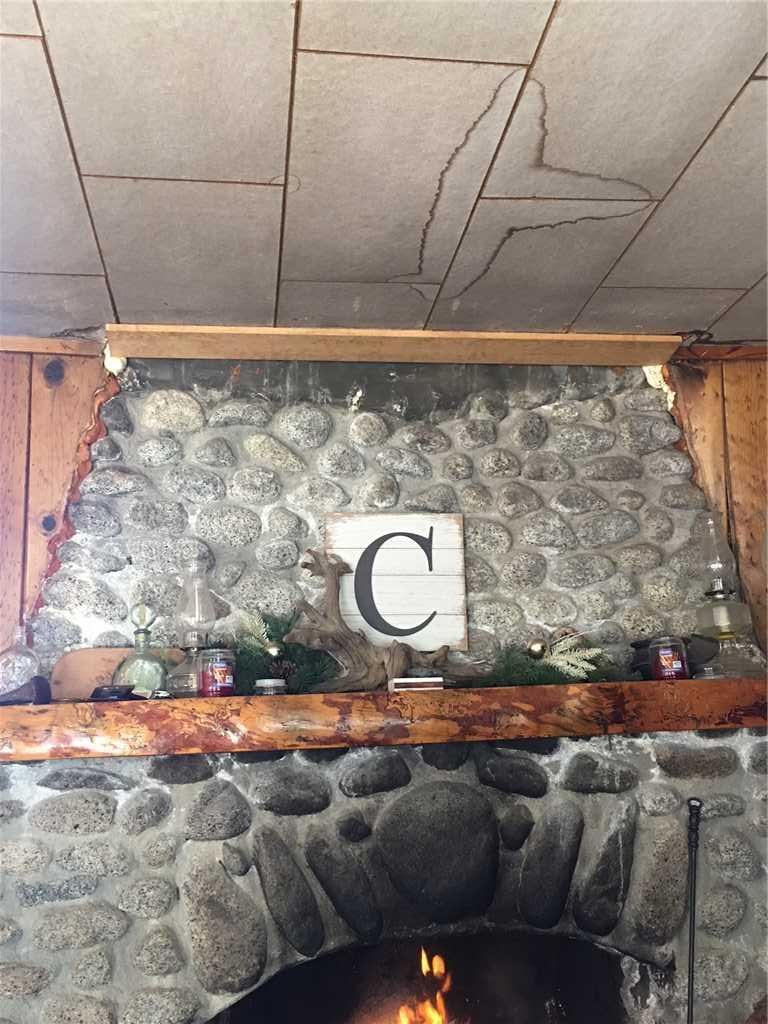Fixing a Fireplace in Idyllwild-Pine Cove - Before Photo