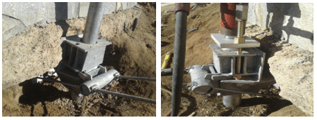 Lateral Force System in Temecula - After Photo